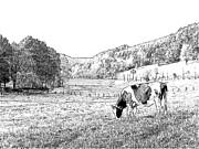 Fall In Schwedelbach Print by Joseph Hendrix