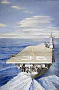 Carrier Paintings - First Cant by Bob Duncan