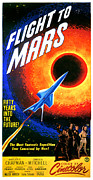 Jbp10dc03 Posters - Flight To Mars, 1951 Poster by Everett