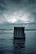 Beach Chair Prints - Flood Print by Joana Kruse