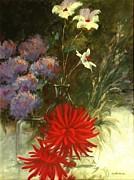 Floral Medley Print by Madeleine Holzberg