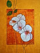 Flower-art Print by Renate Dartois
