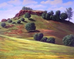 Canyon Paintings - Flowering Meadow by Frank Wilson