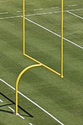 Goal Post Framed Prints - Football Goal Post Framed Print by Jeremy Woodhouse