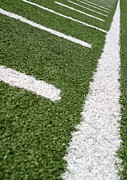 Turf Art - Football Lines by Henrik Lehnerer