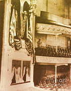 Abe Lincoln Photo Posters - Fords Theater, Lincoln Assassination Poster by Photo Researchers