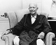 Frail Prints - Former President Dwight Eisenhower Print by Everett