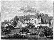 France: Wine Ch�teau, 1868 Print by Granger