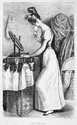 Dressing Room Prints - Frances Trollope (1780-1863) Print by Granger