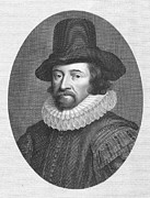 Francis Framed Prints - Francis Bacon (1561-1626) Framed Print by Granger