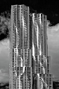 Frank Gehry Prints - Frank Gehry High Rise Lower Manhattan Print by Robert Ullmann