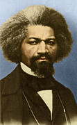 Reformer Framed Prints - Frederick Douglass, African-american Framed Print by Photo Researchers