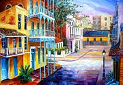 French Quarter Sunrise Print by Diane Millsap