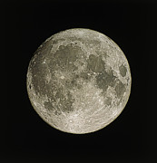 Astronomical Prints - Full Moon Print by Eckhard Slawik