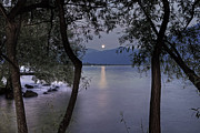 Lake Photos - Full Moon by Joana Kruse