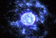 Gamma Ray Burst Photos - Gamma Ray Burst Formation by Nasa