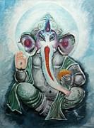Ganesh  Print by Sabrina Phillips