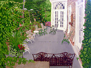 Niagara On The Lake Paintings - Garden Party by Lisa MacDonald