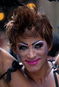 Gay Issues Photos - Gay Pride Parade NYC 6 26 11 Drag Performer by Robert Ullmann