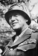 Patton Posters - General George S. Patton Jr. 1885-1945 Poster by Everett