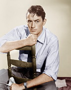 Films By Elia Kazan Acrylic Prints - Gentlemans Agreement, Gregory Peck Acrylic Print by Everett