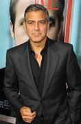 George Clooney At Arrivals For The Ides Print by Everett