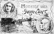Moments Posters - George Eliot (1819-1880) Poster by Granger