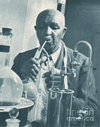 George W. Carver, African-american Print by Science Source
