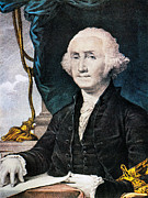 Federalist Framed Prints - George Washington Framed Print by Granger