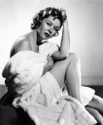 Bare Shoulder Framed Prints - Gloria Grahame, 1953 Framed Print by Everett