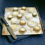 Cheeses Photo Posters - Goats Cheese Poster by David Munns