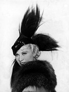 Feathered Hat Framed Prints - Goin To Town, Mae West, 1935 Framed Print by Everett
