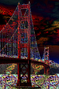 Moran Prints - Golden Gate Bridge Print by Aidan Moran