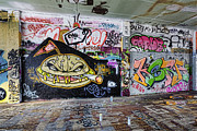 Douglas Orton - Graffiti Adorns Walls Of...