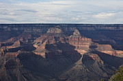 Rock Face Posters - Grand Canyon As Seen From Yavapai Point Poster by Terry Moore