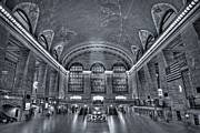 Clock Prints - Grand Central Station Print by Susan Candelario