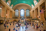 Terminal Prints - Grand Central Terminal Print by June Marie Sobrito