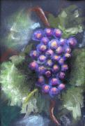 Grapes Pastels - Grapes by Thomas Armstrong