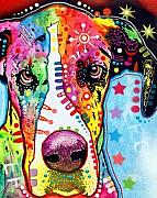 Dean Russo Art Art - Great Dane by Dean Russo
