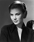 Kelly Framed Prints - Green Fire, Grace Kelly, 1954 Framed Print by Everett