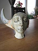 Head Ceramics - Half Moon Head by Braven Smillie