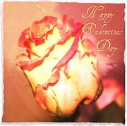 Valentines Digital Art Posters - Happy Valentines Day Poster by Cathie Tyler