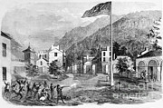 Defeated Prints - Harpers Ferry Insurrection, 1859 Print by Photo Researchers