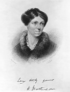 Novelist Framed Prints - Harriet Martineau Framed Print by Granger
