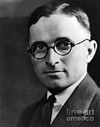 Folksy Prints - Harry S. Truman, 33rd American President Print by Photo Researchers