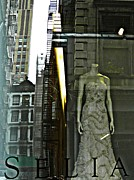 New York City Fire Escapes Photos - Headless Selia by Sarah Loft