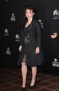 Black Jacket Photos - Helena Bonham Carter At Arrivals by Everett