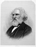 Longfellow Prints - Henry Wadsworth Longfellow Print by Granger