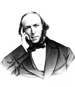 Spencer Prints - Herbert Spencer, English Polymath Print by Science Source