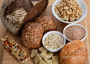 Oatmeal Prints - High Fiber Food Print by Photo Researchers, Inc.